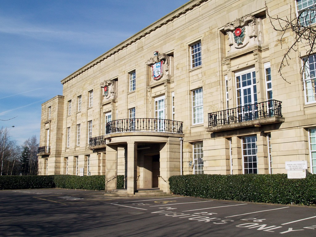 Bury Removals Job Bury Town Hall Lancashire